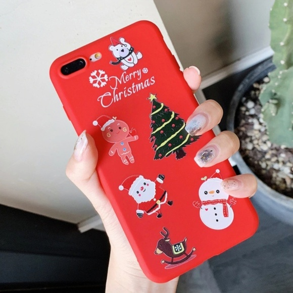 Accessories - NEW iPhone 7/8 Christmas Case